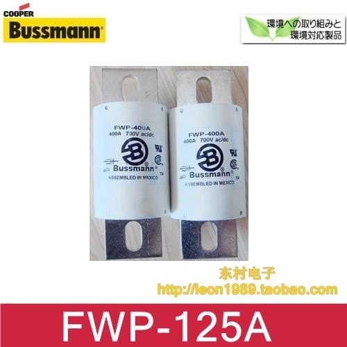 ФОТО US imports Cooper Bussmann Fuses FWP-125A 125A 700V fuse