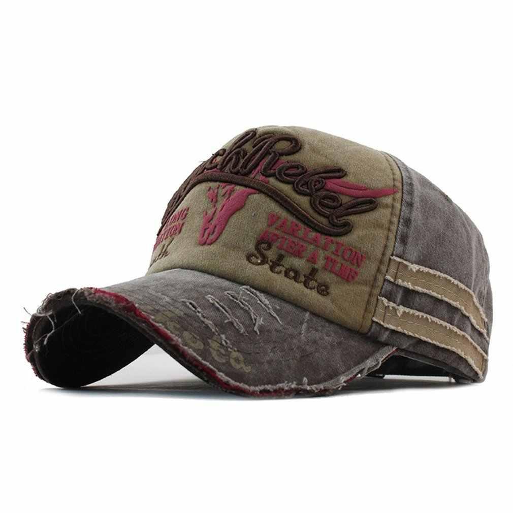 6acdb67547a16e ... Men Baseball Cap Denim Fashion Star Embroidered Sun Hat Snapback  Outdoor Hip Hop Streetwear Women Caps ...