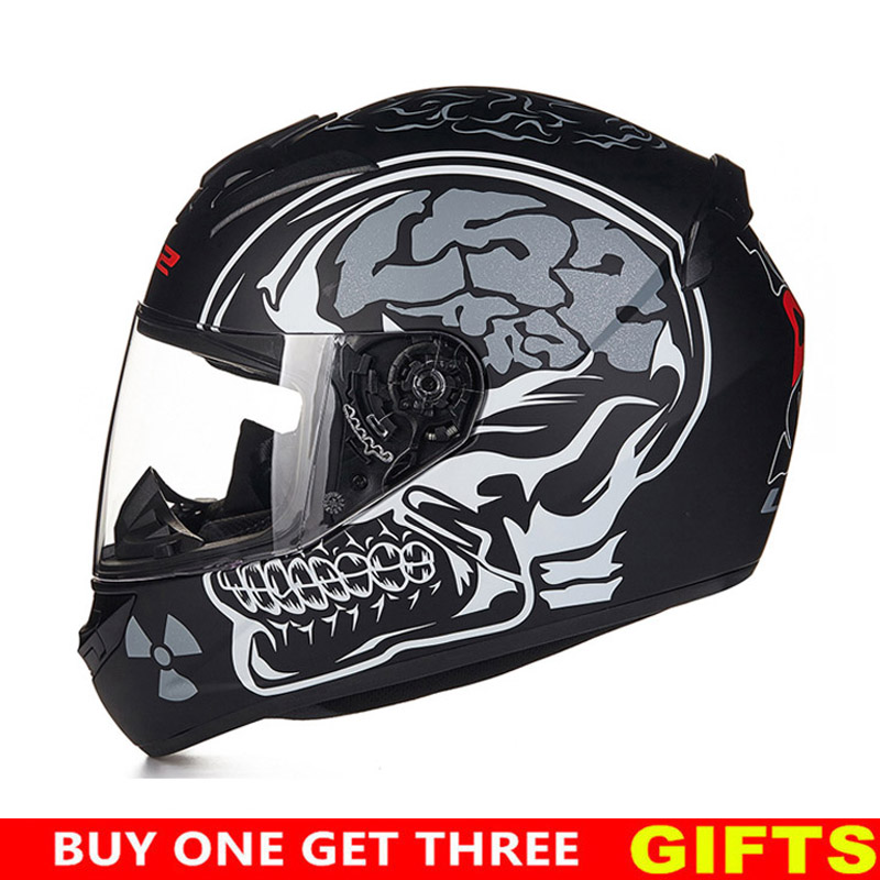 Plein visage moto rcycle casque vintage classique de mode matériaux à Haute résistance 100% D'origine ls2 ff352 Marque Unisexe moto casque