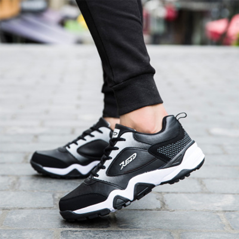 Brand Running Sneakers Winter Men's Sport Shoes Joker Trend Casual Comfortable Sneakers Shoes For Youth With Cotton