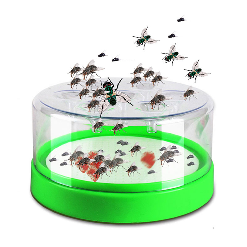 Fly Trap Box Pest Control Device Mosquito Repeller Kyrie Flytrap Catcher Killer Hotel Indoor Automatic Caught Fly Killer Flies