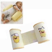 Retail Cute baby sleeping shaping pillow toddler cotton anti roll sleep pillow YYT106