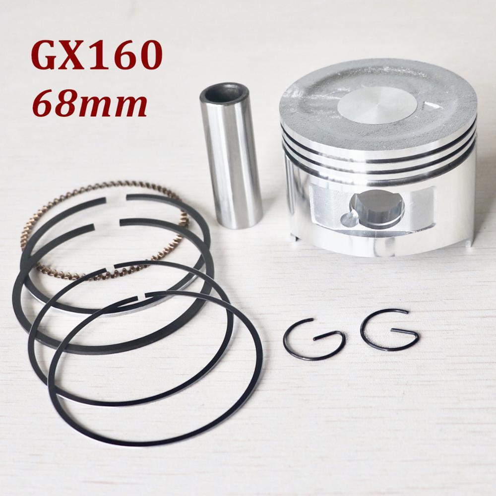 68mm Piston Rings Kit For HONDA GX160 Chinese 168F 5.5HP Gasoline Engine Motor Generator Water Pump