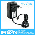 Plugue DA UE: 5V3A 5 V/3A 3 Raspberry PI Poder carregador fonte power Adapter DC/AC Adaptador de FONTE de ALIMENTAÇÃO Fonte de Alimentação melhor do que o 5V2. 5A 5 V/2.5A