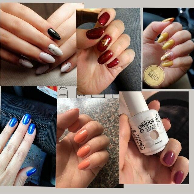 Elite99 15ml Nagel UV Gel Polnischen Gold Glitter Nagellack Maniküre Reine Farbe Gel polnischen Gel Für Nail art gesund-lack-maniküre-gel-polnisch-pick 1 von 241