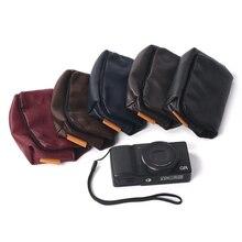 Xách tay Máy Ảnh trường hợp túi cho Ricoh GR grii GR2 bảo vệ bìa