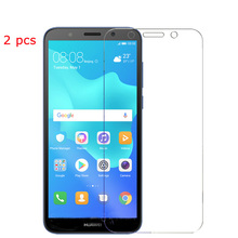 2pcs Screen Protector For Huawei Y5 Prime 2018 Tempered Glass Huawei