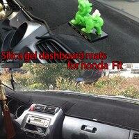 For Honda Fit Jazz 2004 2016 Silica Gel Car Dashboard Pad Instrument Platform Desk Avoid Light