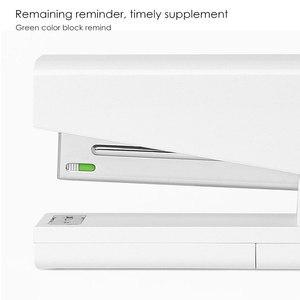 Image 4 - Youpin kaco lemo grampeador 24/6 26/6 com 100 pçs grampos para escola de escritório papel para casa inteligente kit