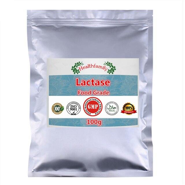 China Halal Approved Enzyme Lactase Powder,Lactose Milk Sugar Powder,Beta galactosidase,Top Grade Nutrition Supplements