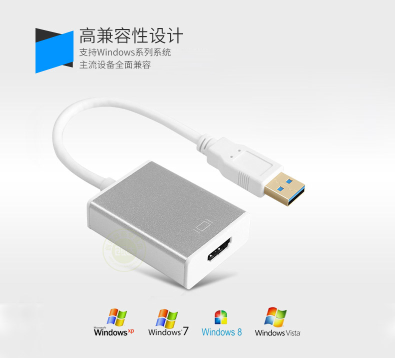 USB 3.0 To HDMI External Graphics Adapter Converter For HDTV LCD PC Laptop Audio Video for windows