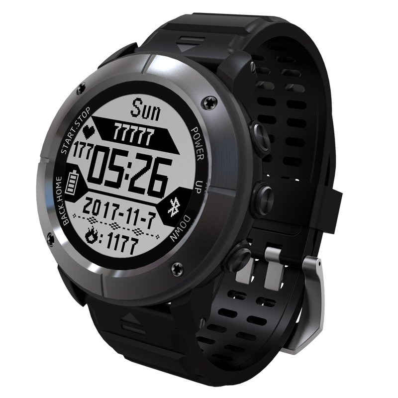 UW80C Smart Watch GPS IP68 200 Meters Waterproof Heart Rate Monitor Weather forecast Thermometer Remote Control Sport WristwatchUW80C Smart Watch GPS IP68 200 Meters Waterproof Heart Rate Monitor Weather forecast Thermometer Remote Control Sport Wristwatch