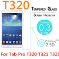 """5pcs 9H Explosion-Proof Toughened Tempered Glass For Samsung Galaxy Tab Pro T320 T321 T325 8.4"""" Film Clear Screen Protect Cover"""