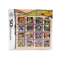 Nintendo NDS Game 500 In 1 Compilations Video Game Cartridge Console Card English Language With Retail