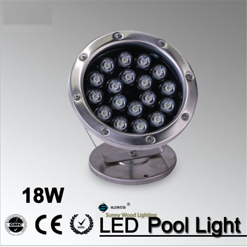 IP68 LED fountain light ,18Wpool light ,IP68 underwater light, piscina light for swimming pool 18W 24V AC LPL-A-18W-24VAC high power led pool light free shipping ip68 fountain light 6w 24v ac led underwater light lpl b 6w 24v