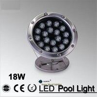 IP68 LED Fountain Light 18Wpool Light IP68 Underwater Light Piscina Light For Swimming Pool 18W 24V