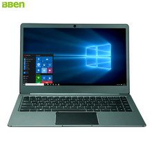 BBEN Laptop Windows 10 Intel Celeron N3450 Quad Core 4GB RAM + 64G eMMC + 64G SSD WiFi BT4.0 HDMI Type C Ultrabook Light-weight
