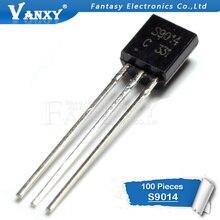 100 шт. S9014 TO-92 9014 TO92 триодный транзистор
