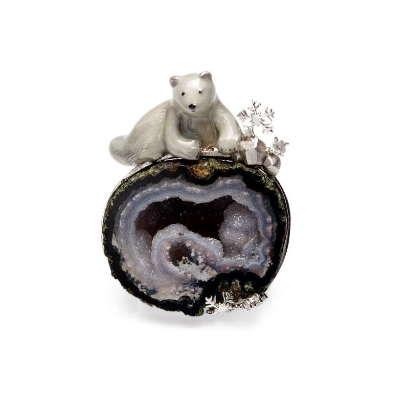 INATURE 925 Plata de Ley ágata Natural lindo Animal colgante collar para mujer amigo regalo-in Collares from Joyería y accesorios    1