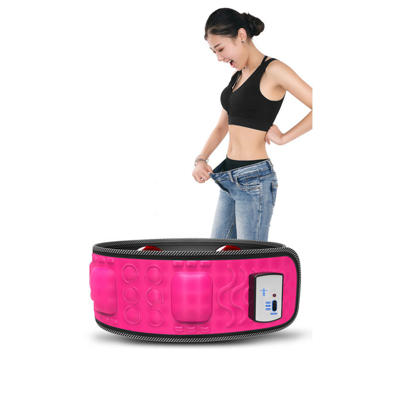 Weight Loss Slimming Machine Vibration Fat Burning Slimming Belt Abdominal Muscle Trainer