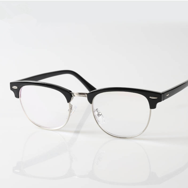chashma brand half rimmed eyewear large frame women and men classic design reading glasseschina
