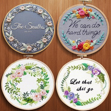 DIY embroidery new creative Home decoration Handmade cross stitch material set