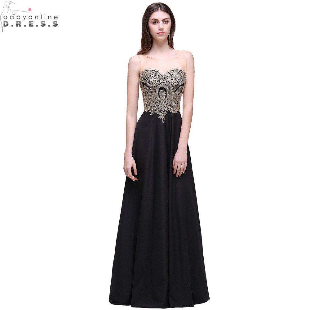 Online Get Cheap Black Satin Evening Gown -Aliexpress.com ...