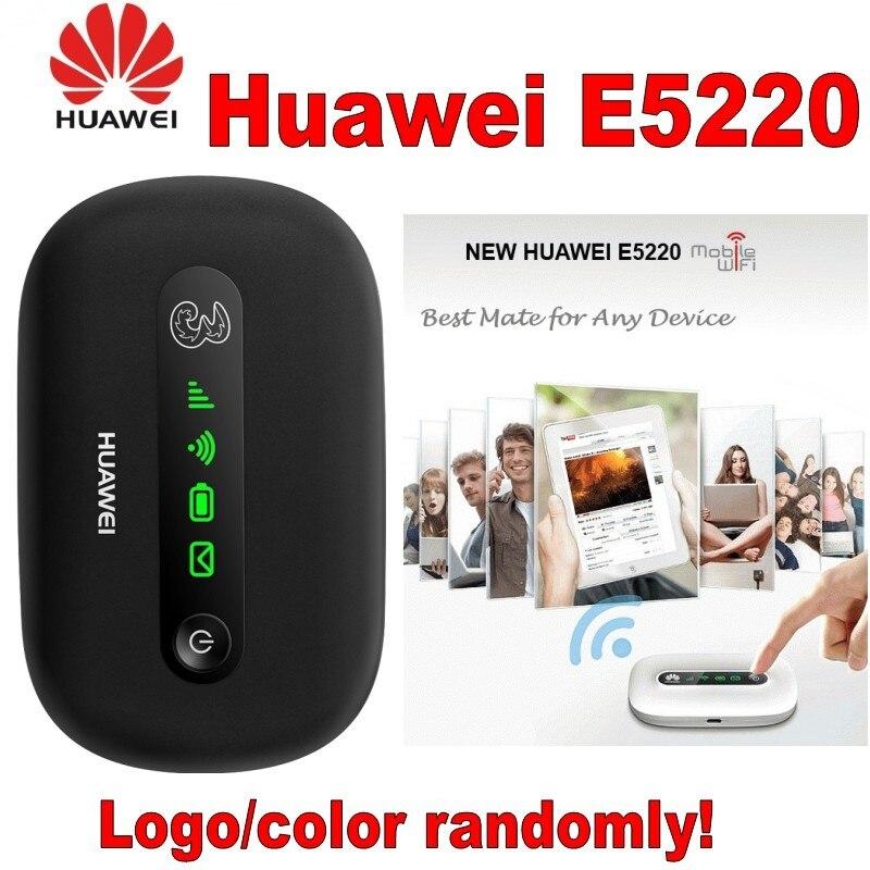 Unlocked Original HUAWEI E5220 3G WIFI Wireless Router With SIM Card Slot Huawei E5220
