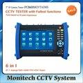 Ipc8600movtadhs 7 ''de pantalla táctil cámara ip cctv ahd analógica test SDI CVI TVI Cámara Tester TDR/OPM/MULTI/VFL prueba ONVIF/WIFI
