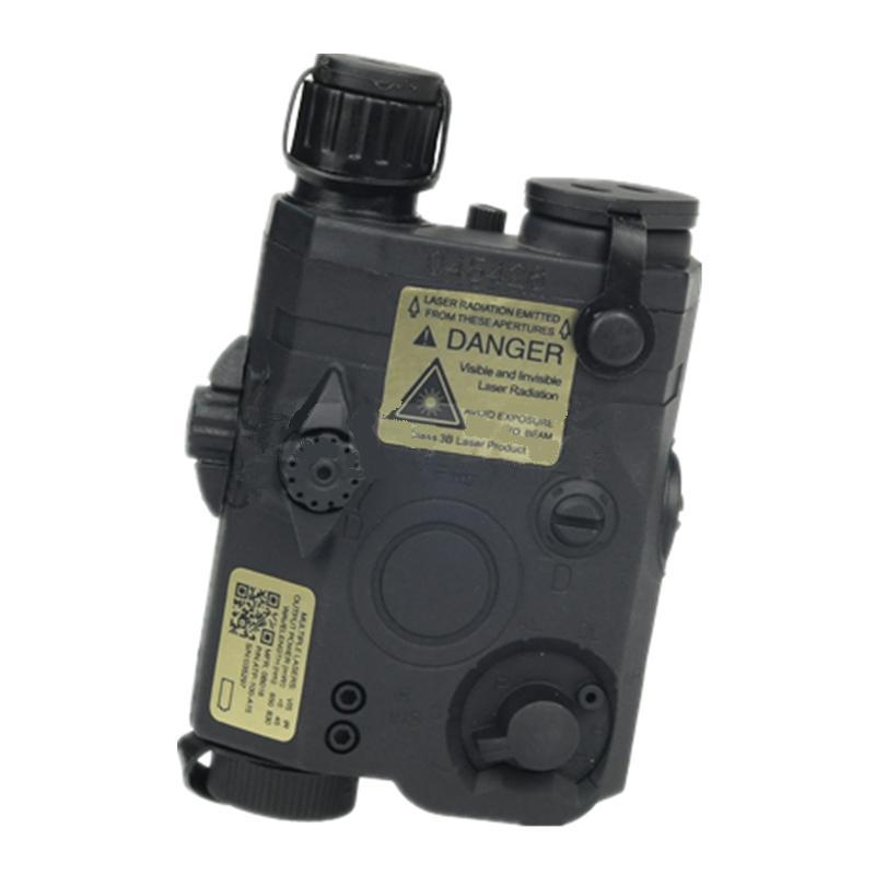 Чехол для аккумулятора Tactical PEQ 15 LA 5 + зеленый лазер для 20 мм Black DE FG