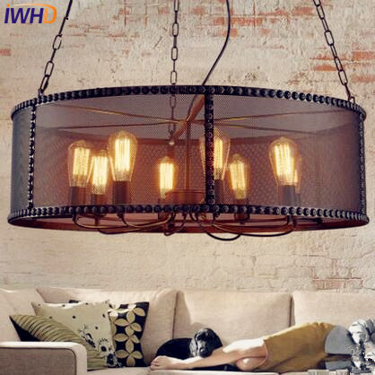 American Loft Edison Pendant Lights Fixtures Dinning Room Retro Industrial Light Vintage Lamp Lighting Lamparas Hanglamp