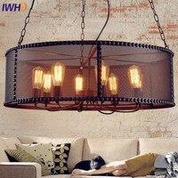 Amerykańska Loft Edison Wisiorek Światła Oprawy Jadalnia Retro Firma Industrial Light Rocznika Lampy Oświetlenie Hanglamp Lamparas