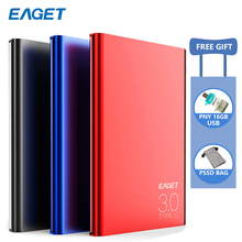 Eaget G70 HDD 2.5 USB 3.0 External Hard Drive 1tb/2tb Type-c Disk hd externo disco duro for PC Laptop