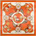 90 cm * 90 cm Bufanda de Invierno Bufandas de La Manera Nacional de Corea del Diseño de Marca de moda Elegante Flor grande Impreso Voile De Algodón Bufanda larga