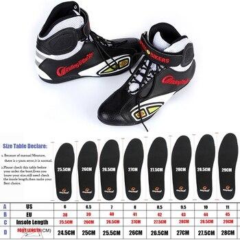 Riding Tribe-botas para Motocross para hombre, calzado Protector de motocicleta, equipo de protección, botines cómodos