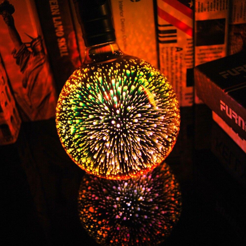 Lâmpadas Led e Tubos noite colorido retro vidro lampara Tensão : ac 220v