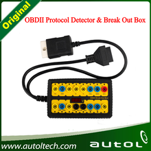 OBDII Protocol Detector and OBDII Break Out Box original ADS Automotive Diagnostic tool