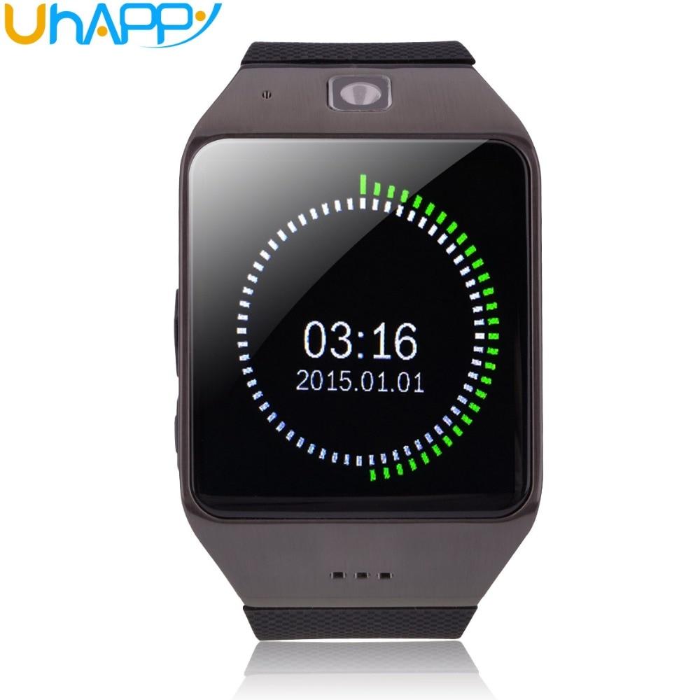все цены на Free Shipping Original Uhappy UW1 Handsfree Bluetooth smart watch NFC wireless wearable Waterproof Life GSM Wholesale онлайн
