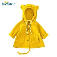 Здесь можно купить  LONSANT 2018 Babys Boys Girls Winter Carton Hooded Coat Solid Cotton Outwear Clothes High Quality Children Clothes Dropshipping  Children