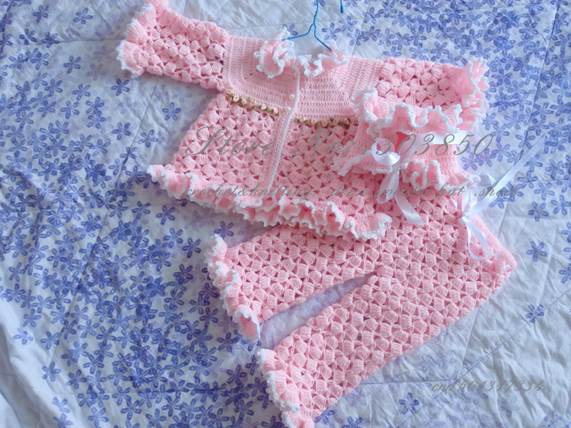 cc9a359dd Hand Knit Baby Toddler Sweater and pants sets 0 24 months old ...