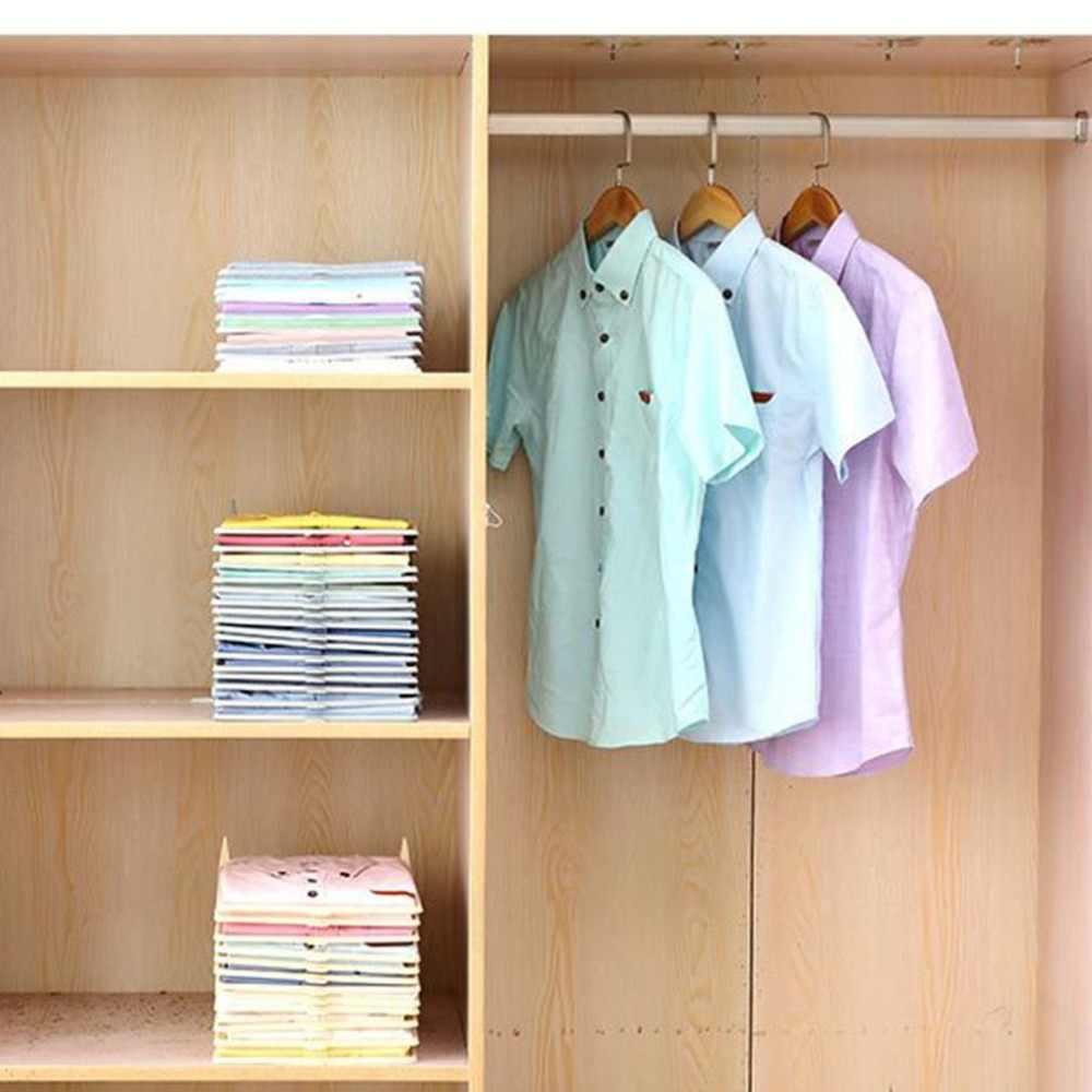 Wielofunkcyjna trwała plastikowa pralnia przechowywanie składana deska wyjątkowa odzież półki ułożone deska organizer narzędzia Hot