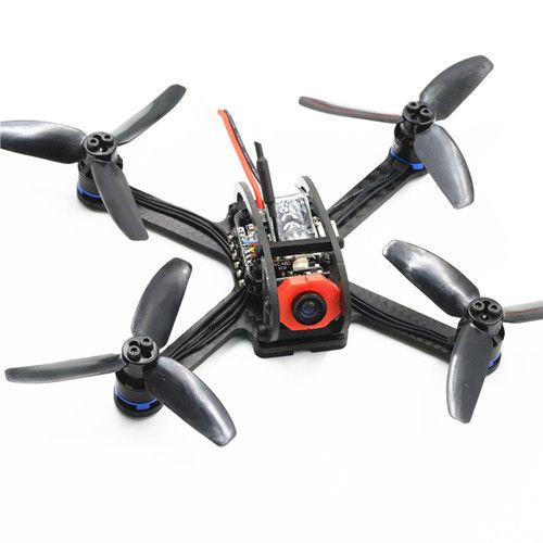 BIFRC X3 130 Mini Racing 4 Axies FPV Quadcopter Drone 2.5mm F3 Dshot600 Brushless ESC con OSD