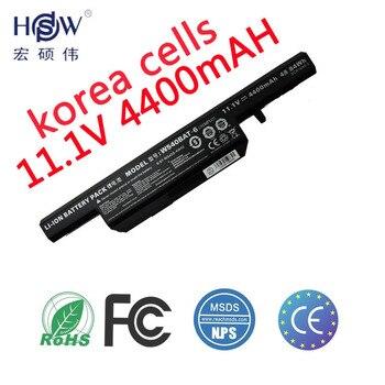 HSW genius  laptop battery For Clevo W155u W540eu W54eu W550 W550eu W55eu W540 W540bat-6 Licr19/66-2 6-87-w540s-4w41