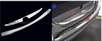 Para Mitsubishi Pajero sport protector de Parachoques Trasero parachoques trim protector 2 uds 2013 2014 2015 2016