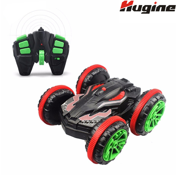 RC Car Buggy 2.4G 4WD Powerful Extreme Stunt Amphibious Remote Control Car Drives on Land&Water 360 Degree Flips Hobby Kids Toys