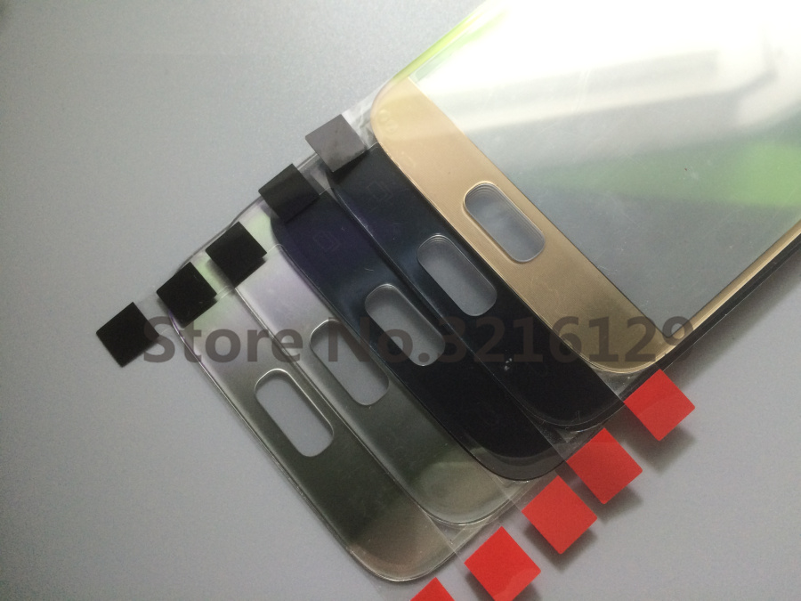 50pcs/lot Original new High Quality <font><b>Replacement</b></font> LCD Front Touch Screen <font><b>Glass</b></font> Outer Lens For <font><b>Samsung</b></font> <font><b>Galaxy</b></font> <font><b>s6</b></font> G920/S7 G930 image