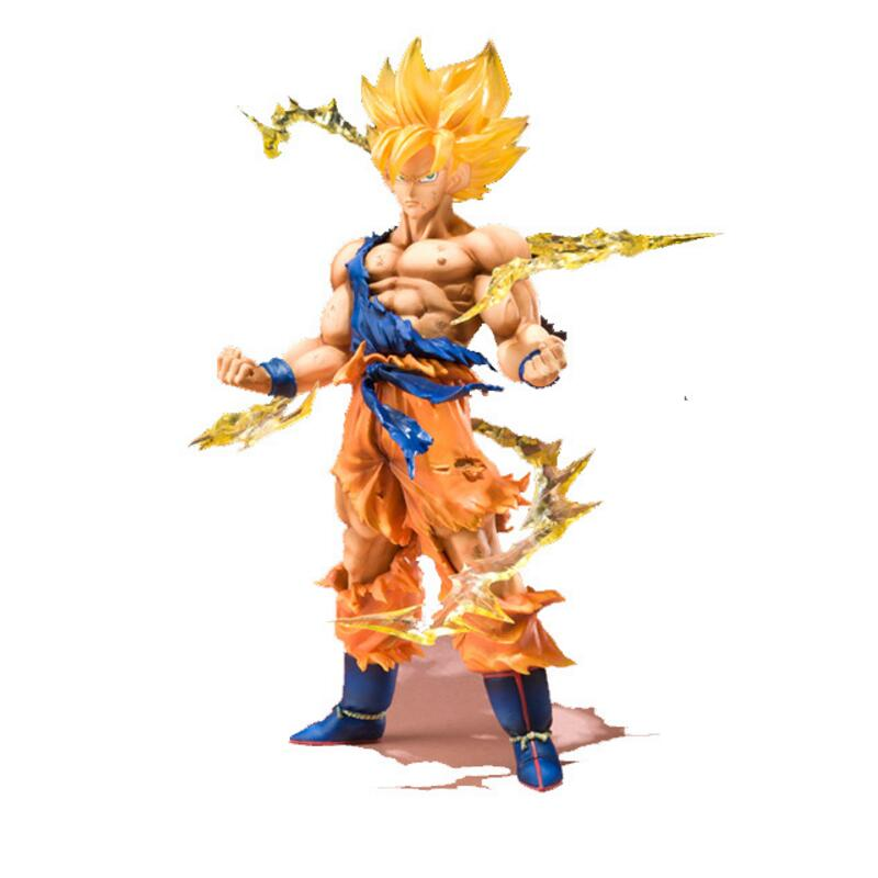 buy bandai original box anime dragon ball z action figures super saiyan son. Black Bedroom Furniture Sets. Home Design Ideas