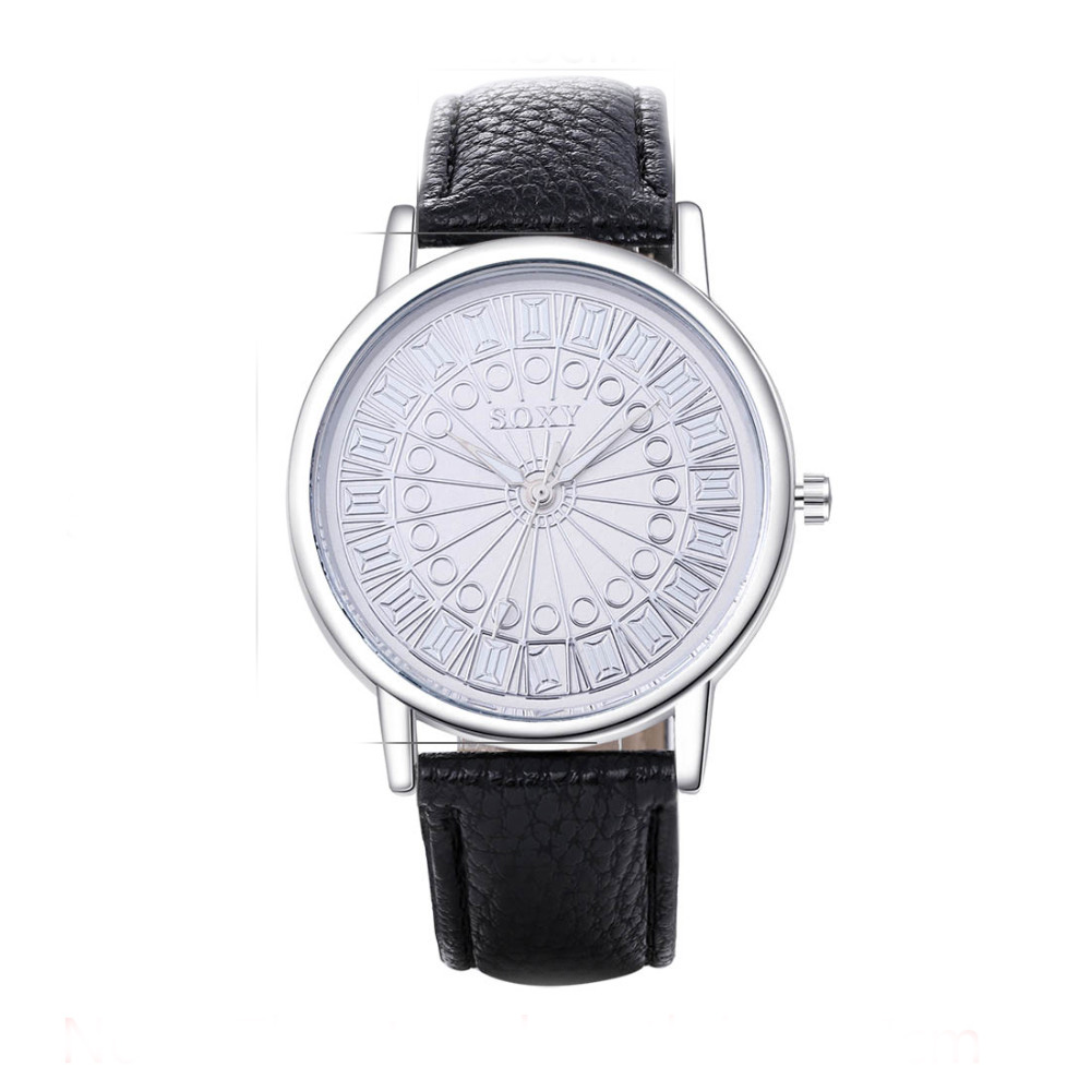 2017 새로운 시계 여성 SOXY 패션 럭셔리 브랜드 갈색 여성 시계 숙녀 시계 시계 relogio feminino montre femme saat relogio