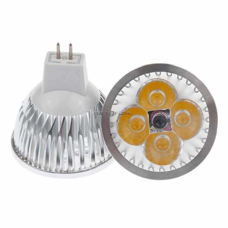 عكس الضوء MR16 12 فولت 9 واط 12 واط 15 واط Led لمبة GU10 110 فولت 220 فولت مصباح كول دافئ الأبيض ضوء الأضواء 85-265 فولت