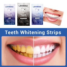 6pcs White Gel Dental Teeth Whitening Strip Tooth Bleaching Whiter Whitestrips Stripes Stripsps Oral Hygiene Elastic Dental Tool(China)